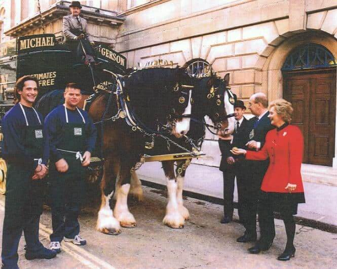 Mayor With A Horse And Carriage