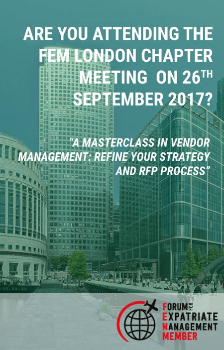 FEM London Chapter Meeting September 2017