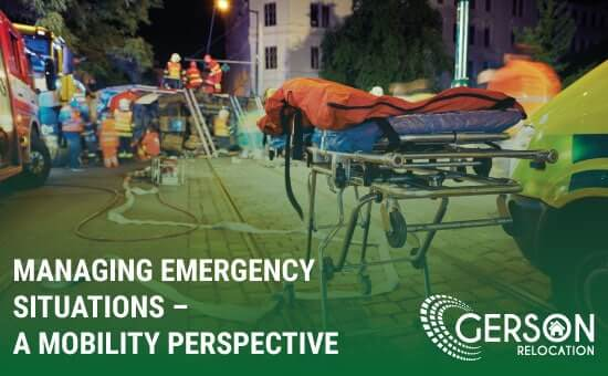 Managing Emergency Situations – A Mobility Perspective