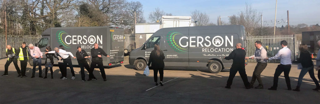 Gerson Relocation, the international moving and relocation company, have been raising money for Sport Relief.