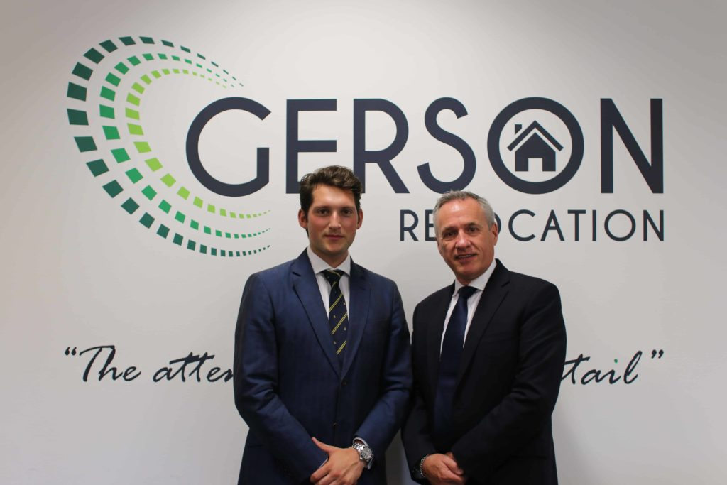Oliver has started his AGM Group graduate programme working within the Gerson Relocation business.
