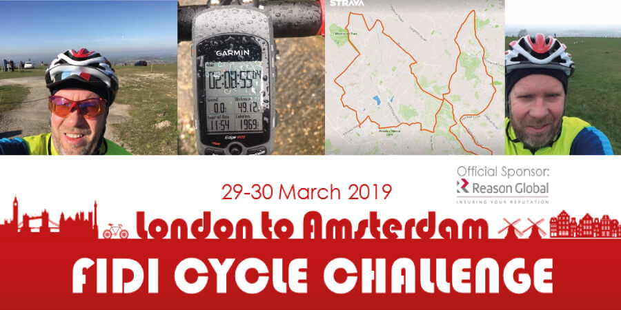 FIDI Bike Ride 2019 - London To Amsterdam
