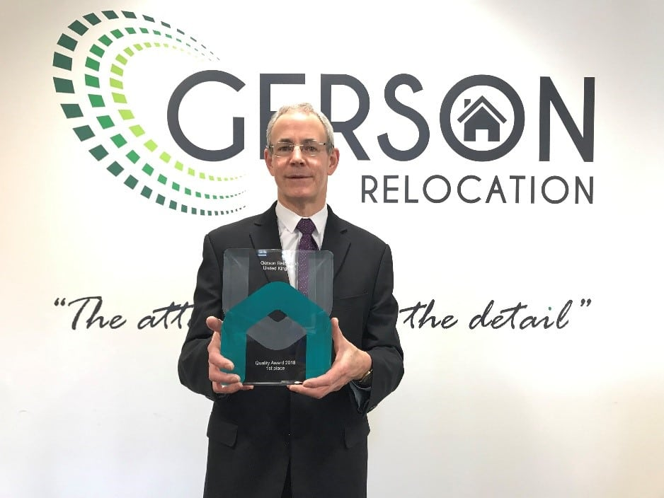 Gerson Relocation wins Harmony Relocation Network Award for Quality