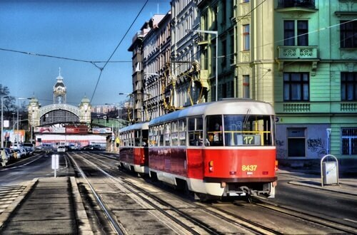 Prague is one of the easiest capitals to commute in throughout the entirety of Europe