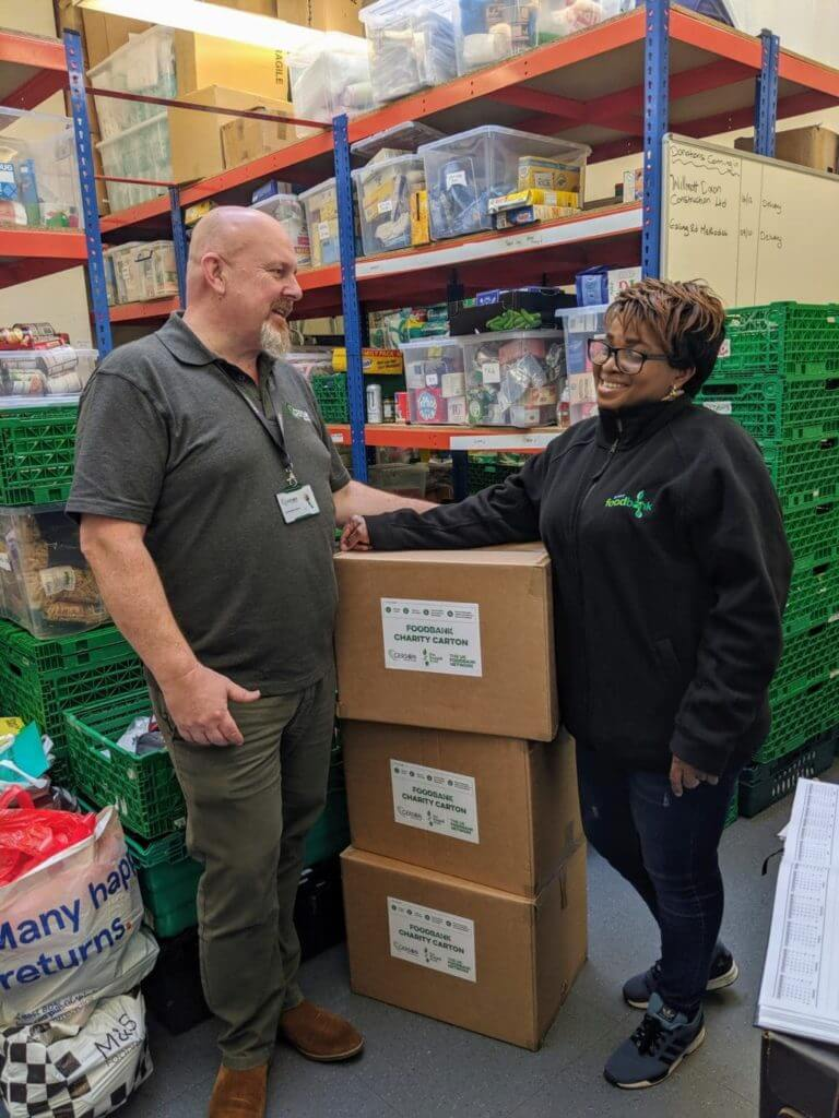 We deliver your items you donate from your move to Trussell Trust