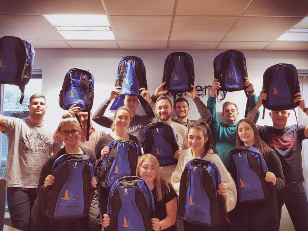 CLIC Sargent Christmas Gift Bags