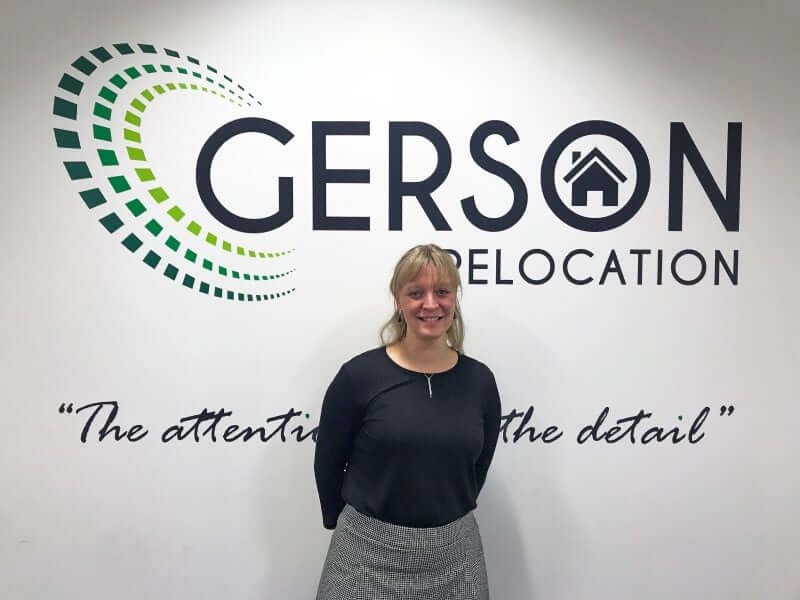 Claire Skillett joins Gerson Relocation international moving expert