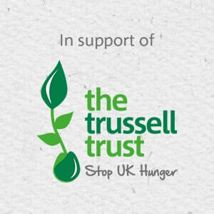 Collection of Trussell Trust Foodbank donations on each move