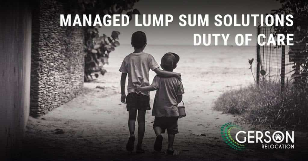 Managed Lump Sum - Duty Of Care