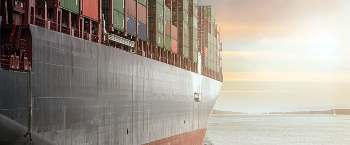 large container ship for global relocation services