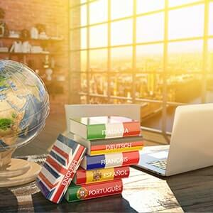 Relocation language training services