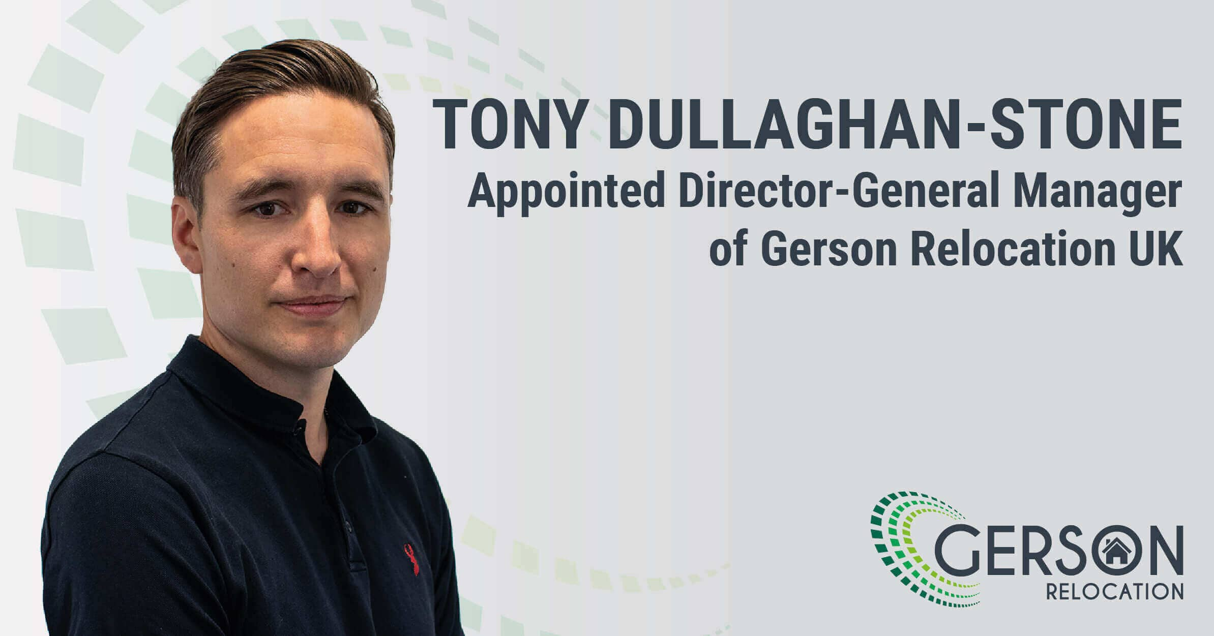 Tony Stone Appoint As Gerson Relocation General Manager