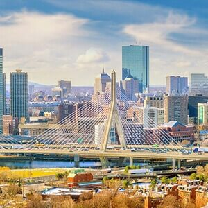 Skyline of Boston, USA