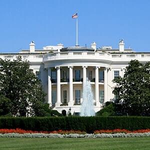 The White House in Washington DC
